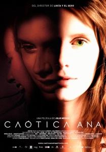 cartel Caótica Ana.
